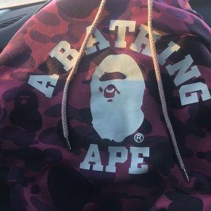 Bathing ape hoodie